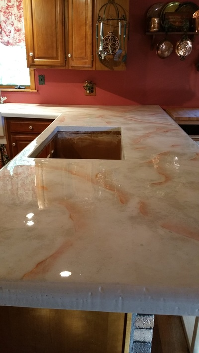 D Amp E Concrete Countertops Home